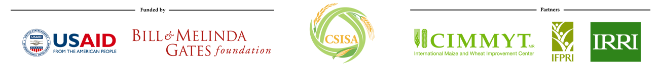 Cereal Systems Initiative for South Asia (CSISA) Research Data